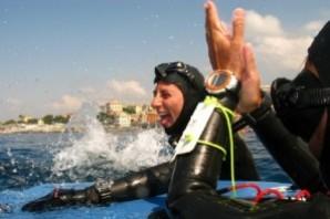 Apnea: Monica Barbero batte il Record Mondiale