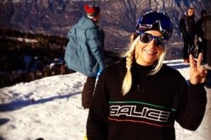 """Snowboard: Giulia Manfrini questa mattina alla """"prima"""" nella sua terza Universiade"""