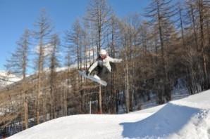Universiadi: Giulia Manfrini chiude sesta e felice la prova di snowboard cross