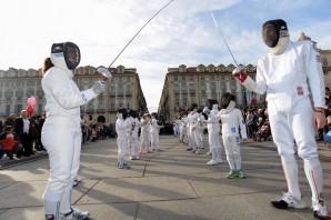 """FencingMob 2017, una domenica """"social"""" con il Club Scherma Torino"""