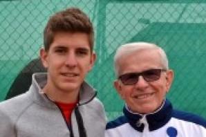 Tennis: Matteo Donati vola in finale a Caltanissetta