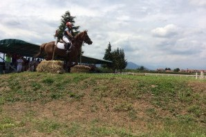 Lo spettacolo del cross country all'Horsebridge di None