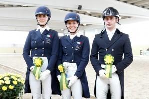 Equitazione: la finale di Coppa Italia di dressage all'Horsebridge