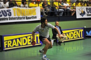 Tennis Tavolo: Khalid Assar, l'egiziano del Cus Torino, sarà olimpico