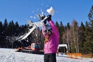 Snowboard: scivolare sulla neve fin da bambini