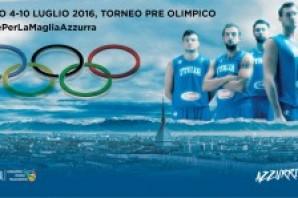 Basket: Rio 2016, Torneo Pre Olimpico assegnato a Torino. Un estate azzurra sotto la Mole