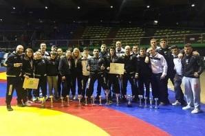 Lotta: 13 medaglie per il Cus Torino ai Campionati Italiani Assoluti