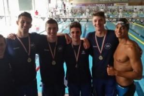 Nuoto: a Riccione ancora protagoniste le staffette torinesi di Centro Nuoto e Rari Nantes