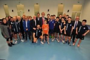 Tennis Tavolo: il Presidente Federale in visita al CUS Torino