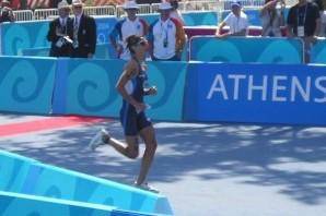 Nadia Cortassa e il triathlon olimpico di 12 anni fa