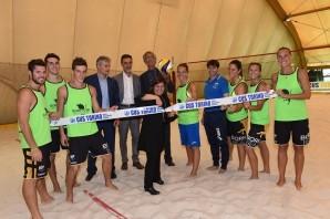 Beach Volley: inaugurato un nuovo campo in via Panetti