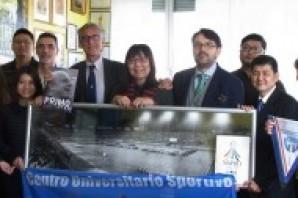 Una delegazione di Taipei a Torino in ottica Universiadi 2017