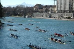 Canottaggio: week end in barca con la d'Inverno sul Po