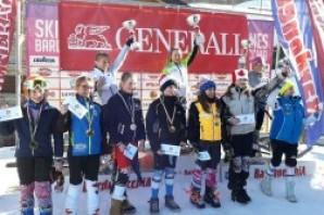 Sci Alpino: a Bardonecchia le gesta dei più giovani nel Trofeo Pinocchio