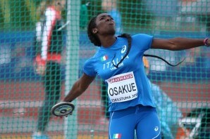 Atletica Leggera: disco, record under 23 per Daisy Osakue