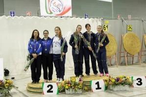 Tiro con l'Arco: Campionati Italiani indoor, Piemonte nell'elite nazionale