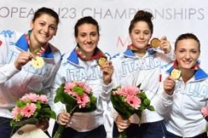 Scherma: Europei under 23, Alice Clerici e Lorenzo Buzzi sul podio a squadre