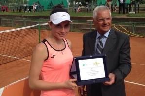 Tennis: Open BNL femminile, Zmau regina al Circolo della Stampa Sporting
