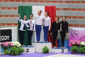 Eurogymnica sul podio anche nel Campionato Italiano di Specialità Gold