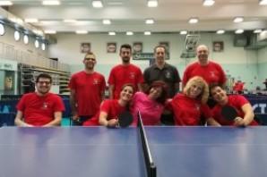 Tennis tavolo, amicizia e passione alla GASP di Moncalieri