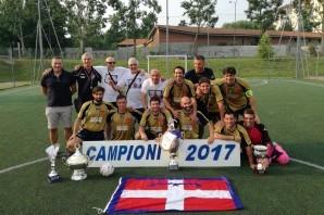 Calcio a 5: la squadra che ha riportato in Piemonte il titolo italiano dei vigili del fuoco