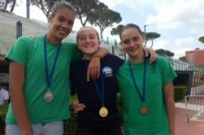 Tuffi: 5 medaglie per la Blu 2006 al GP Azzurri d'Italia. Ilaria Bordoni agli Eurojunior