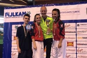 Karate: quatto medaglie torinesi ai Campionati Italiani Cadetti di kumite