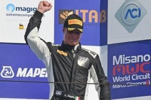 Lorenzo Veglia è terzo a Misano