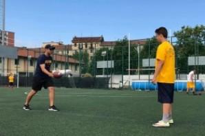 Giorgio Tavecchio, il sogno NFL del kicker che doveva giocare a calcio