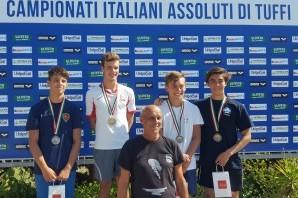 Tuffi: Eduard Timbretti bronzo assoluto