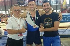 Ginnastica Artistica: Assoluti, Lorenzo Pisano bronzo al corpo libero