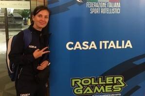 Inline downhill: Martina Paciolla, emozioni mondiali a 80 km all'ora