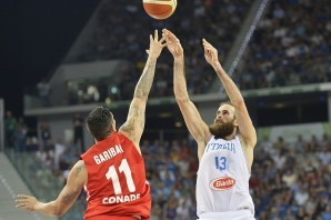Basket: PalaRuffini azzurro per una sera, il 24 novembre si gioca Italia-Romania