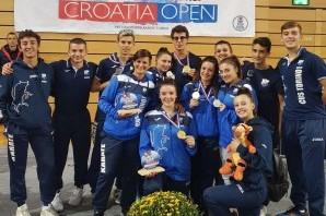 Karate: torinesi grandi protagonisti nell'Open di Croazia