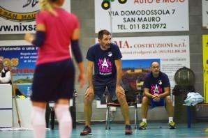CUS Collegno Volley, coach Michele Marchiaro alla vigilia dell'esordio in campionato