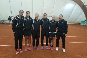 Tennis Beinasco e Stampa Sporting a punti in A1 femminile