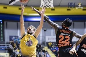 Basket: serata da dimenticare per la Fiat Torino, Zagabria domina al PalaRuffini