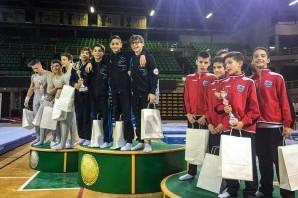 Ginnastica Artistica: Victoria campione d'Italia con i ragazzi della C1