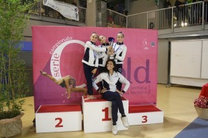 Ginnastica Ritmica: brillano d'oro e d'argento le giovani ginnaste di Eurogymnica