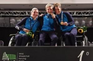 Scherma: Consuelo Nora e Andreea Mogos medaglie torinesi ai Mondiali Paralimpici