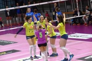 Volley: A2 femminile, terza vittoria consecutiva per Chieri e CUS