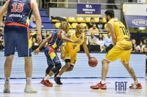 Basket: la Fiat Torino torna senza punti da Andorra