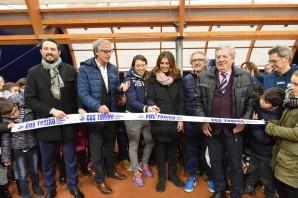 Tennis: inaugurati due campi a Grugliasco