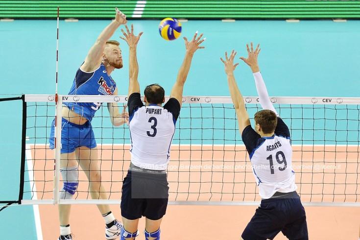 Italia vs Estonia campionati europei