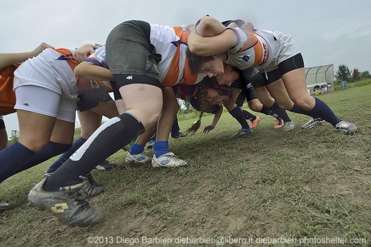 131006 - CUS Torino femminile vs CUS Torino U14 - Foto Diego Barbieri