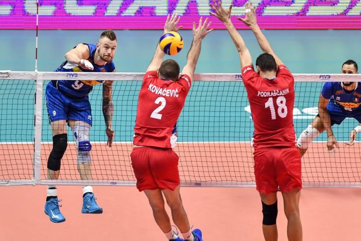 Italia vs Serbia Worlds 2018