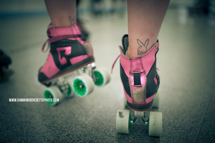 Roller Derby - Bloody wheels'n'TEAM ITALY