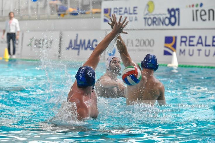 Reale Mutua Torino '81 Iren vs Latina Pallanuoto 10-12