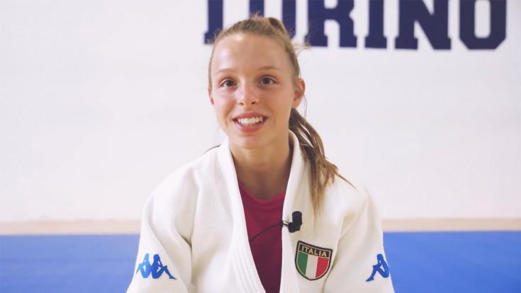 Intervista a Chiara Palanca la giovane Judoka dell'Accademia Torino