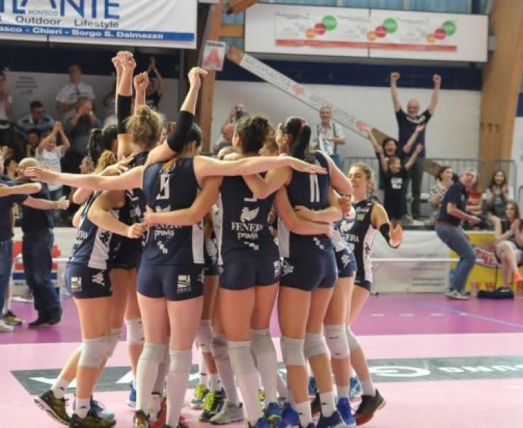 Volley: Fenera Chieri '76 in semifinale